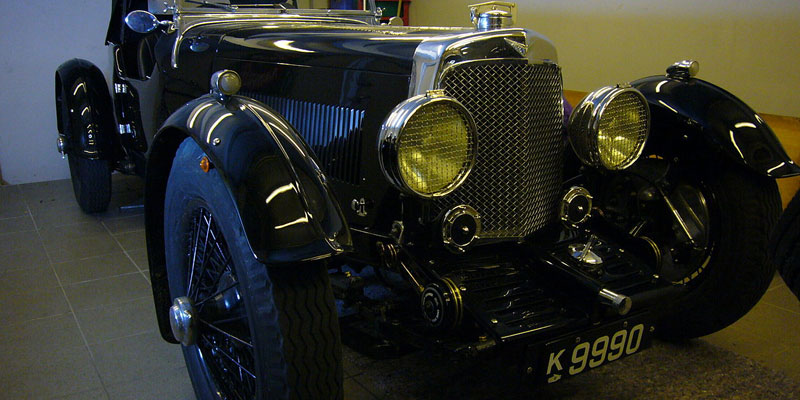 1932–1934 Aston Martin Le Mans short chassis