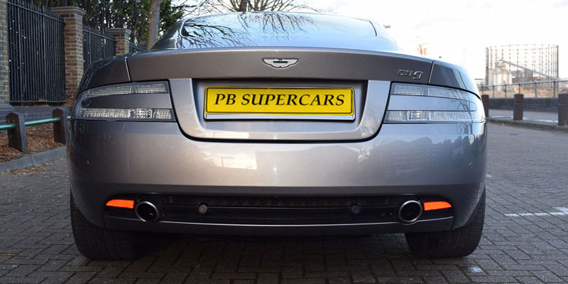 Hire an Aston Martin DB9 online with PB Supercars