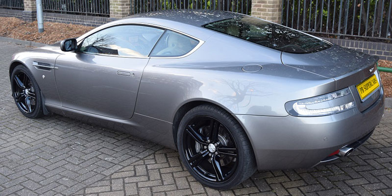 Aston Martin rent online at PB Supercars
