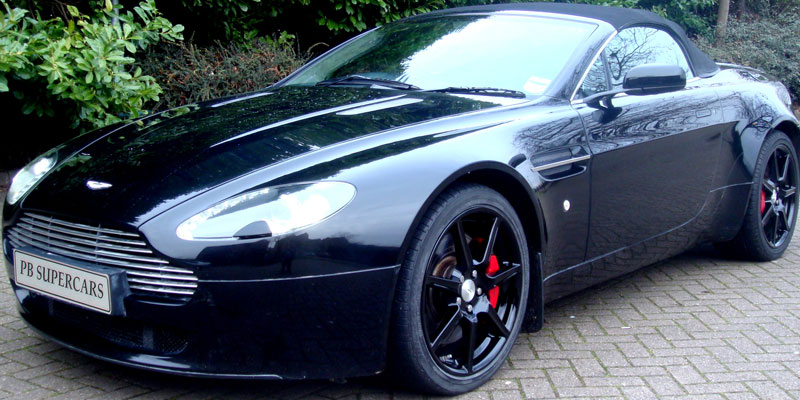 Aston Martin AMV8 Rent with PB Supercars