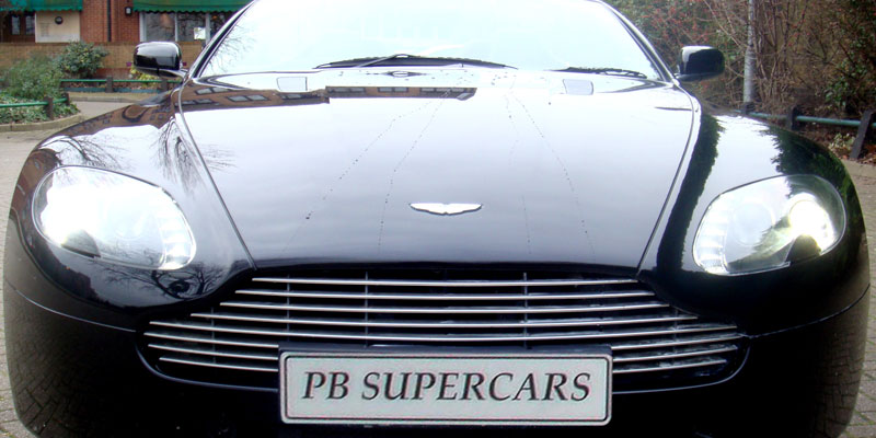 Rent an Aston Martin Vantage Cabriolet online with PB Supercars