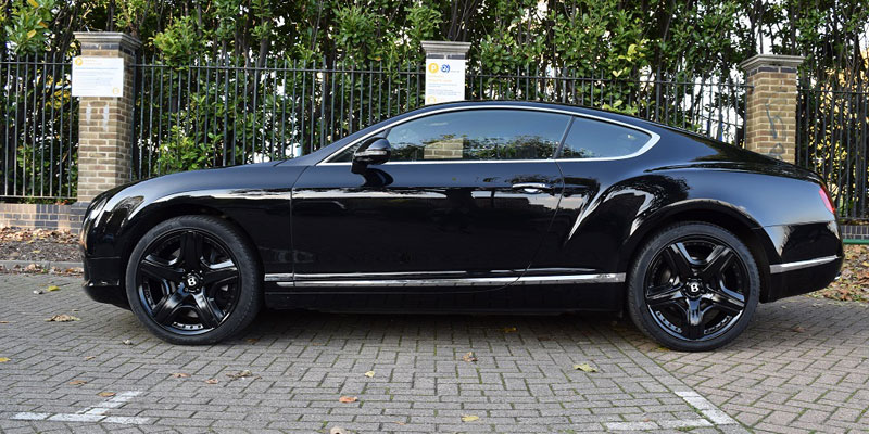 Bentley for hire at PB Supercars