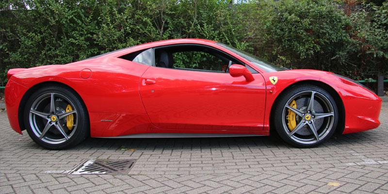 Ferrari 458 Hire 458 Rental Pb Supercar Hire