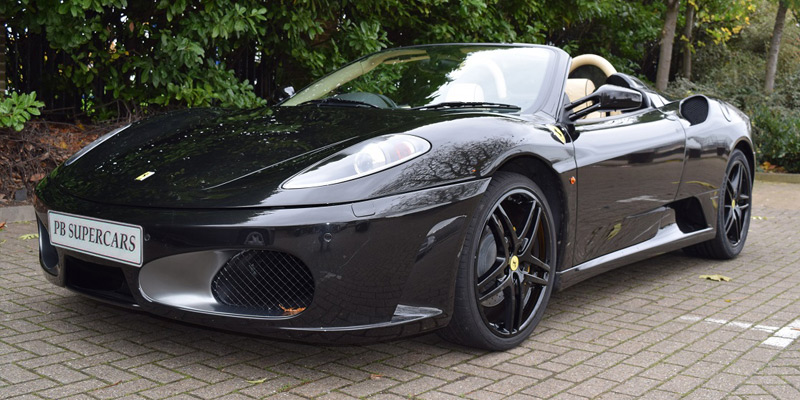 Ferrari Hire at PB Supercars. Hire this F430 F1