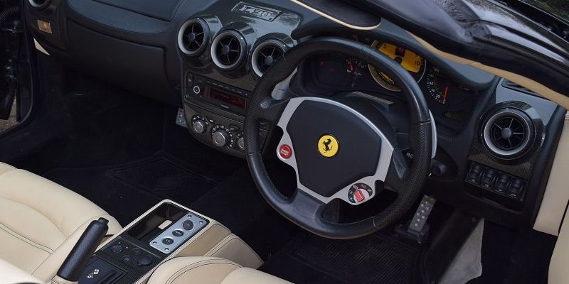 Rent a Ferrari online at PB Supercars - great deals on F430 rental