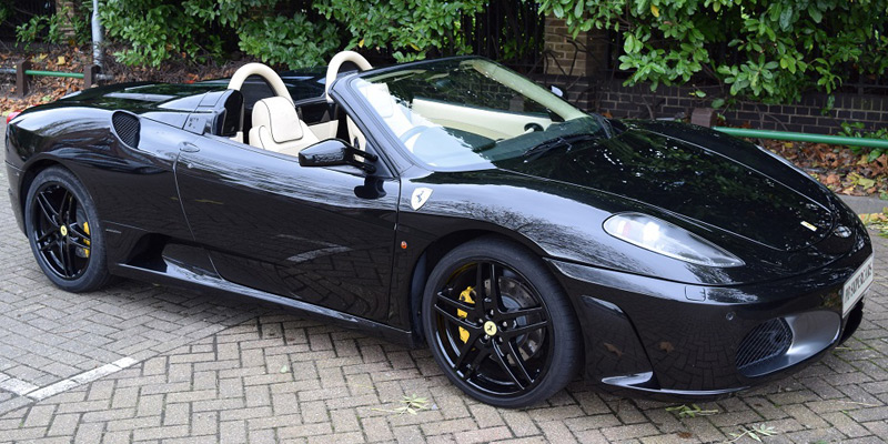 Ferrari car hire. Hire this F430 at PB Supercars