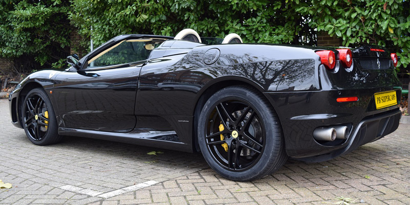 Hire a Ferrari F430 online today at PB Supercars