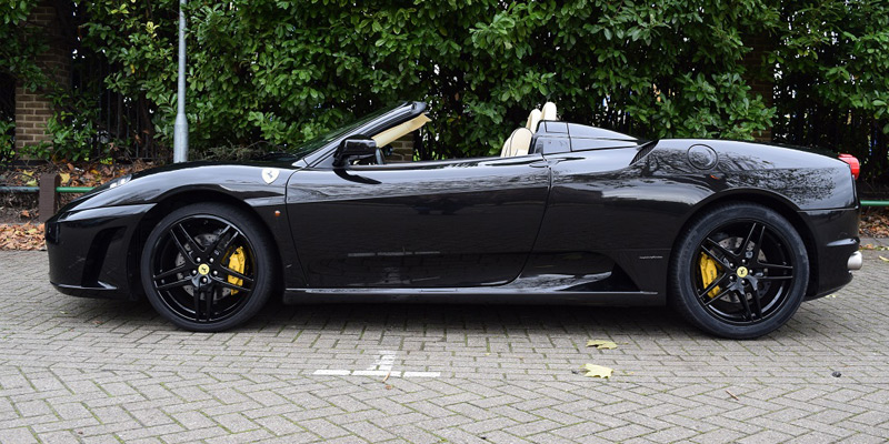 Rent a Ferrari F430 from PB Supercars online today