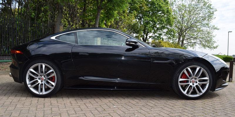 jaguar f type r v8 5 0 coupe hire london pb supercar hire. Black Bedroom Furniture Sets. Home Design Ideas