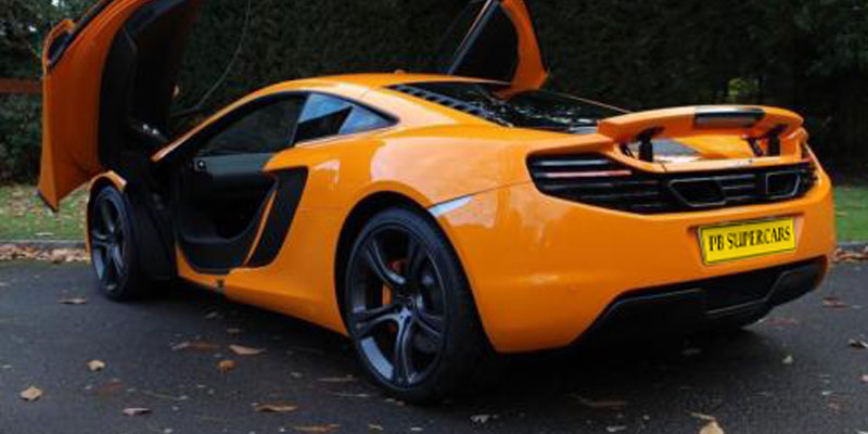 McLaren MP4 12C Hire Door Up