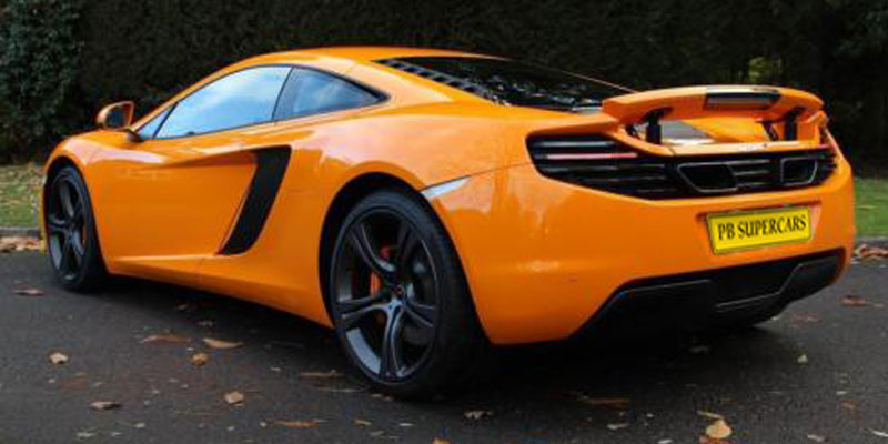 McLaren MP4 12C Hire Rear