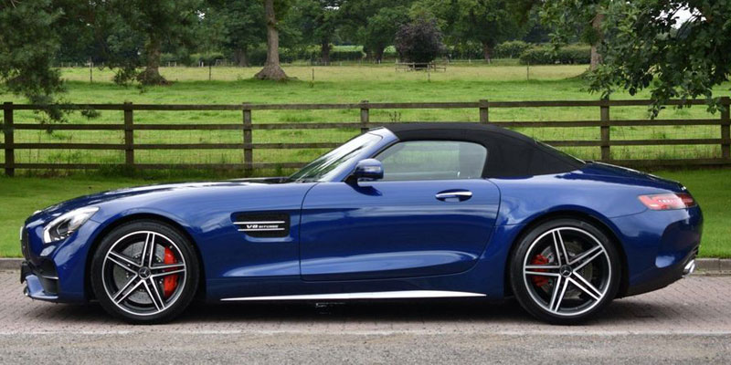 Mercedes AMG GTS Hire Driver Side