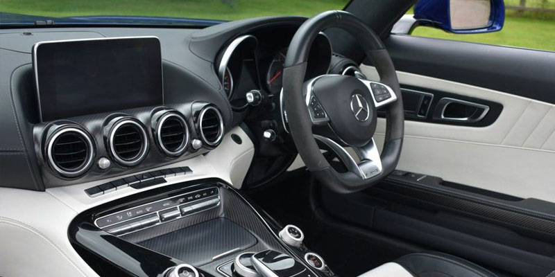 Mercedes AMG GTS Hire Passenger Side Rear