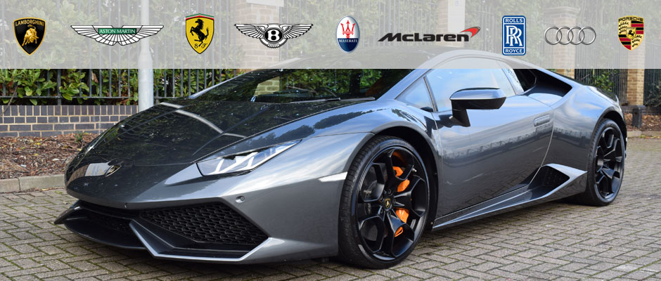 Lamborghini Huracan for hire