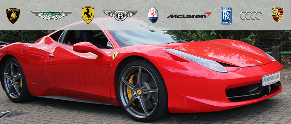 Ferrari 458 for hire